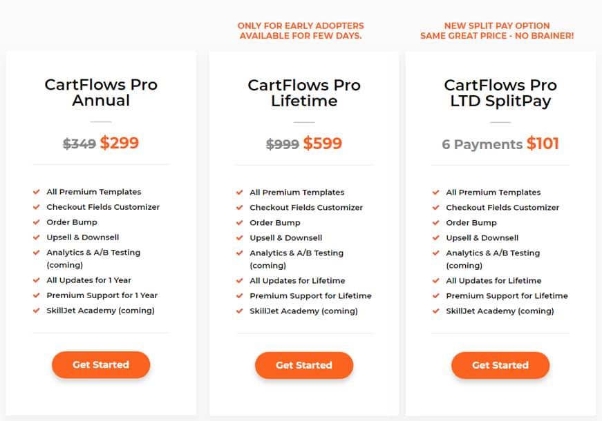 CartFlows Pricing
